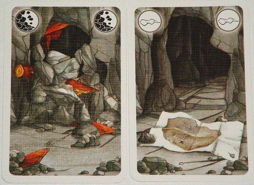 矮人礦坑-崩塌卡-寶藏圖