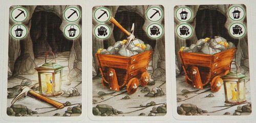矮人礦坑-十字鎬-推車-提燈