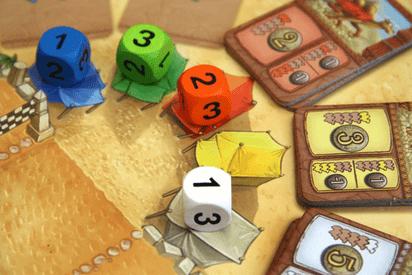 駱駝大賽骰子位置