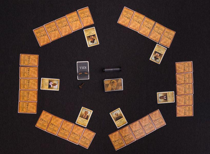獵巫鎮1692遊戲設置