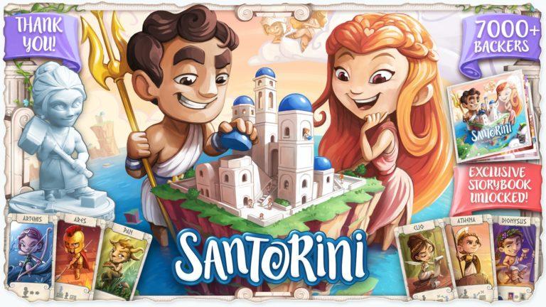 Santorini 聖托里尼|規則技巧玩法 |學會只要30秒的策略遊戲